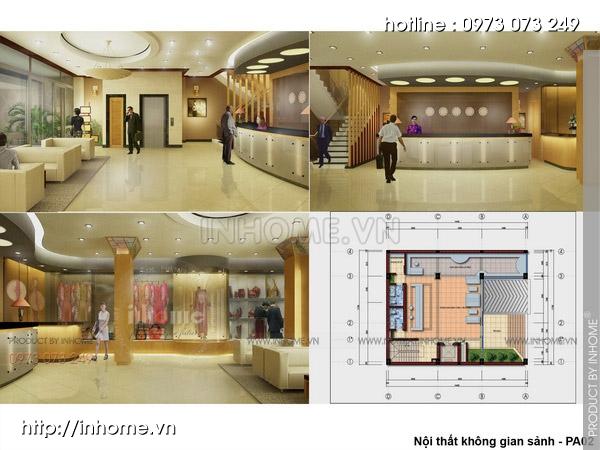 Thiết kế khách sạn hiện đại, sang trọng và độc đáo 10
