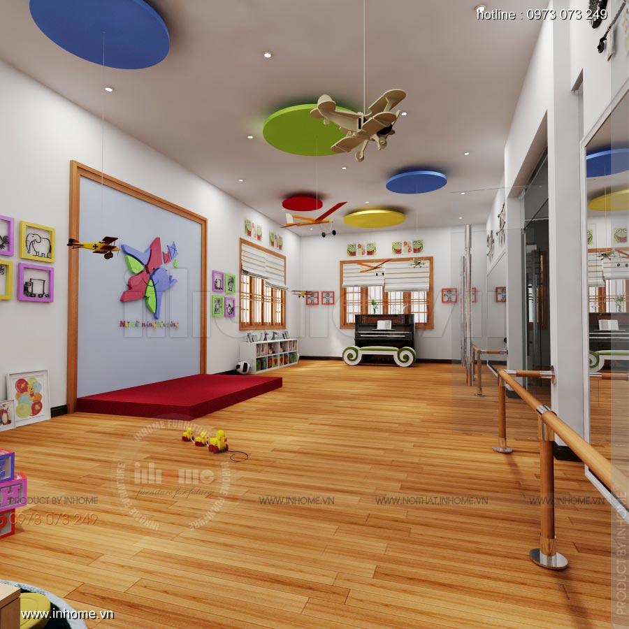 Thiết kế nội thất trường mầm non Ngôi Sao - TP Nam Định 14
