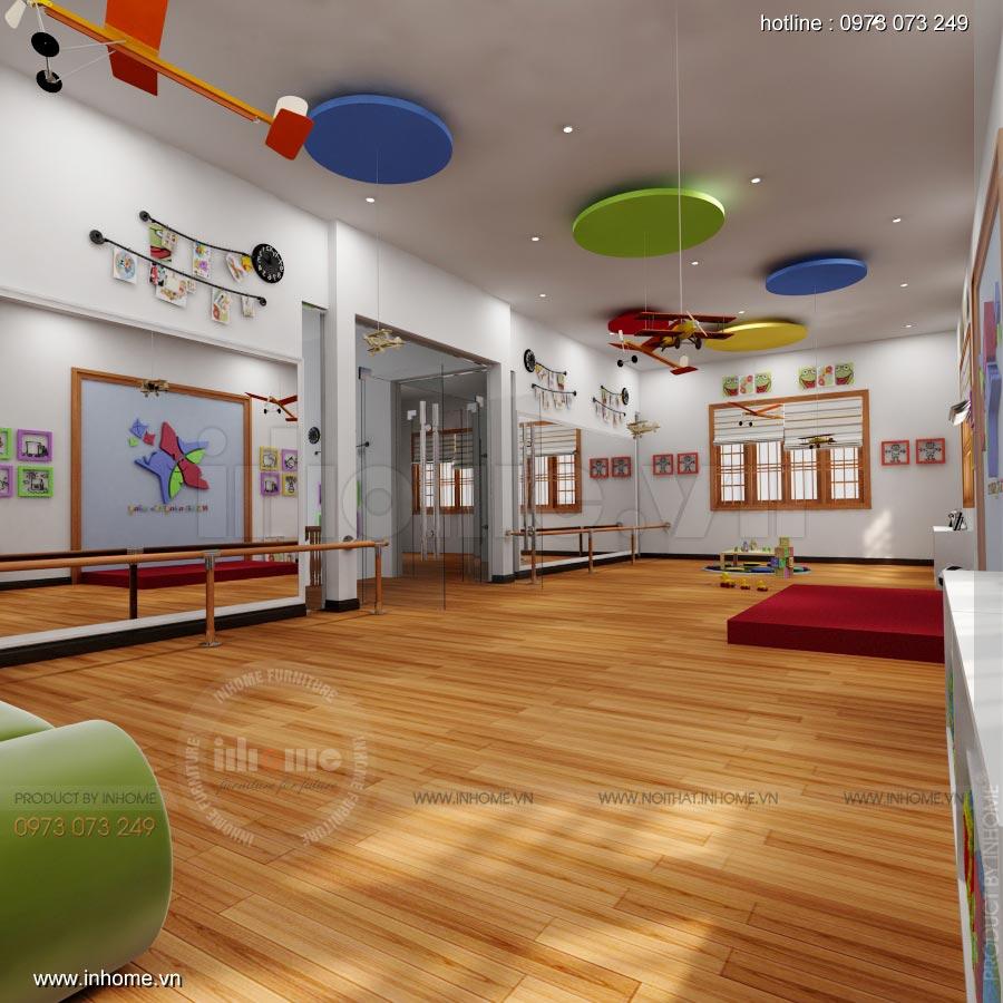Thiết kế nội thất trường mầm non Ngôi Sao - TP Nam Định 16