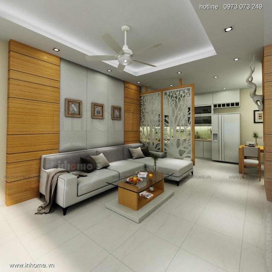 Thiết kế nội thất nhà phố Nguyễn Ngọc Nại 01
