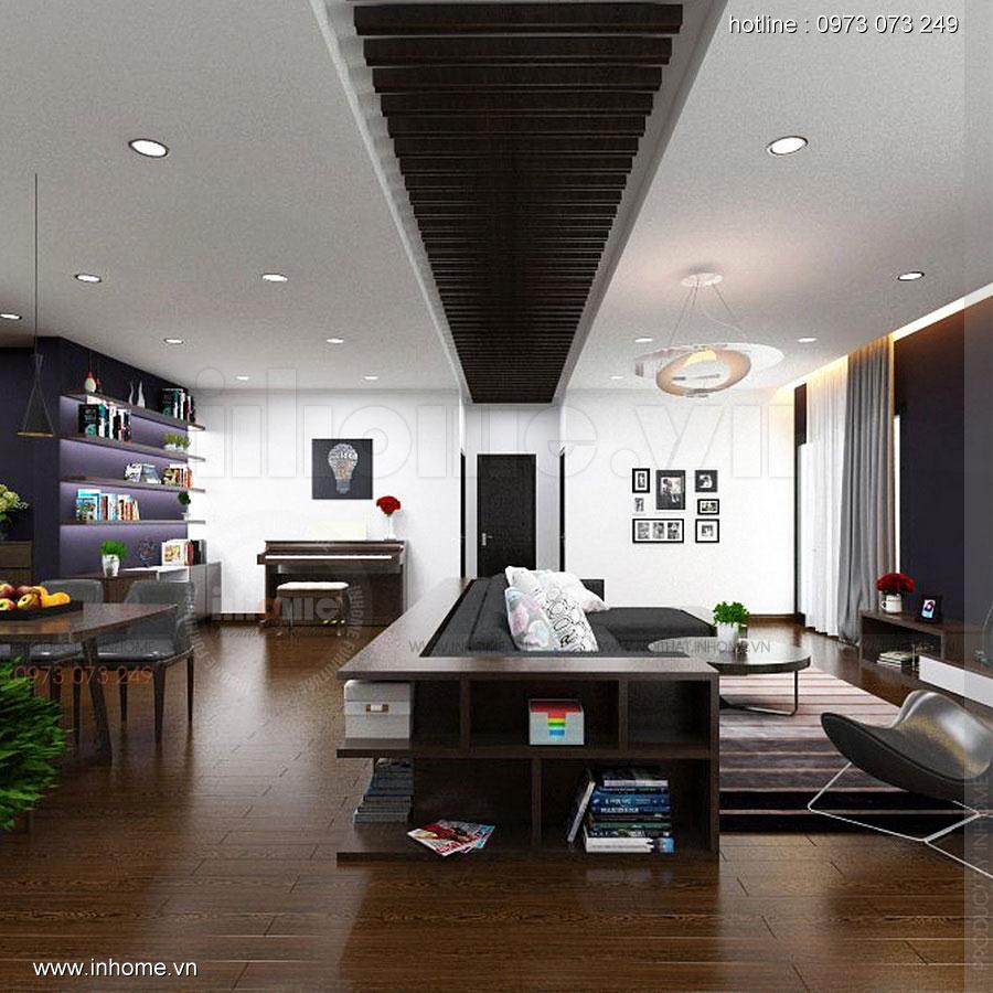 Thiết kế nội thất chung cư Định Công 05