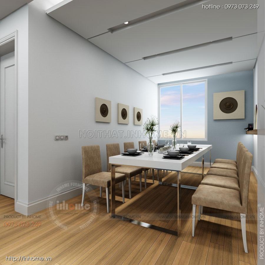 Thiết kế nội thất căn hộ Huyndai Hillstate 01