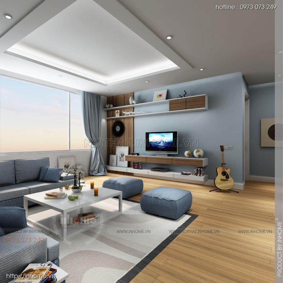 Thiết kế nội thất căn hộ Huyndai Hillstate 03