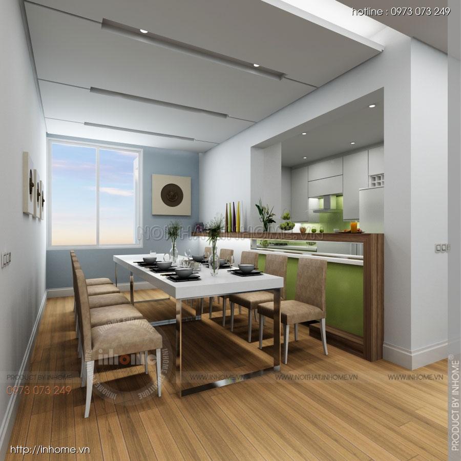 Thiết kế nội thất căn hộ Huyndai Hillstate 04