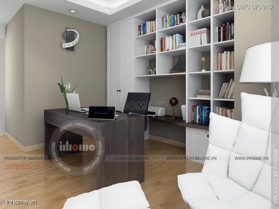 Thiết kế nội thất chung cư CT3 Mỹ Đình 11