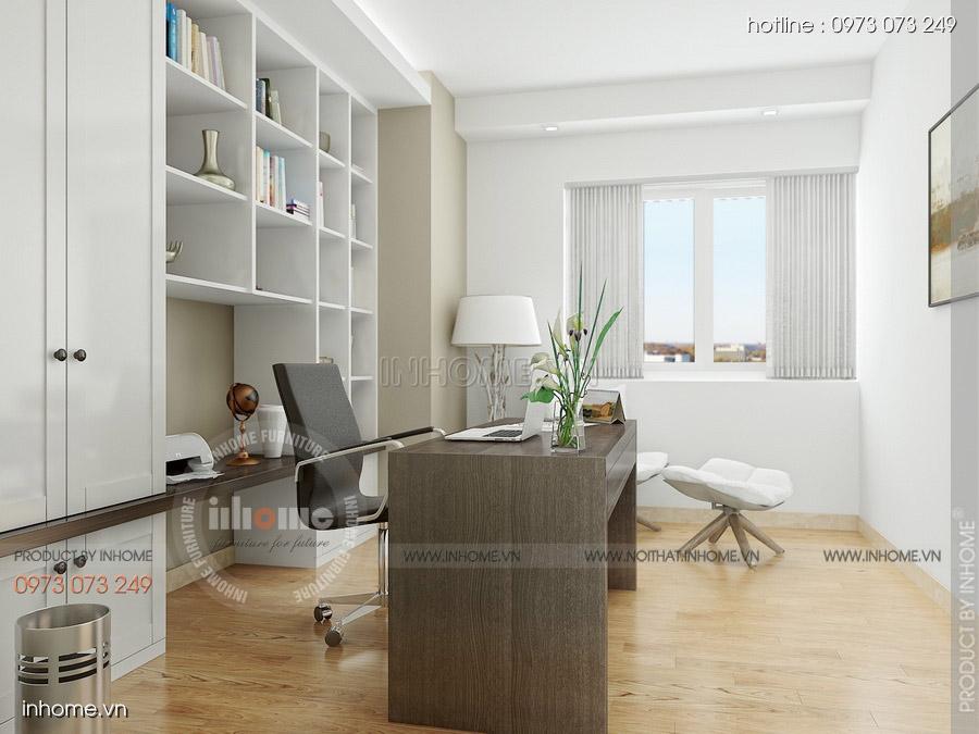 Thiết kế nội thất chung cư CT3 Mỹ Đình 12