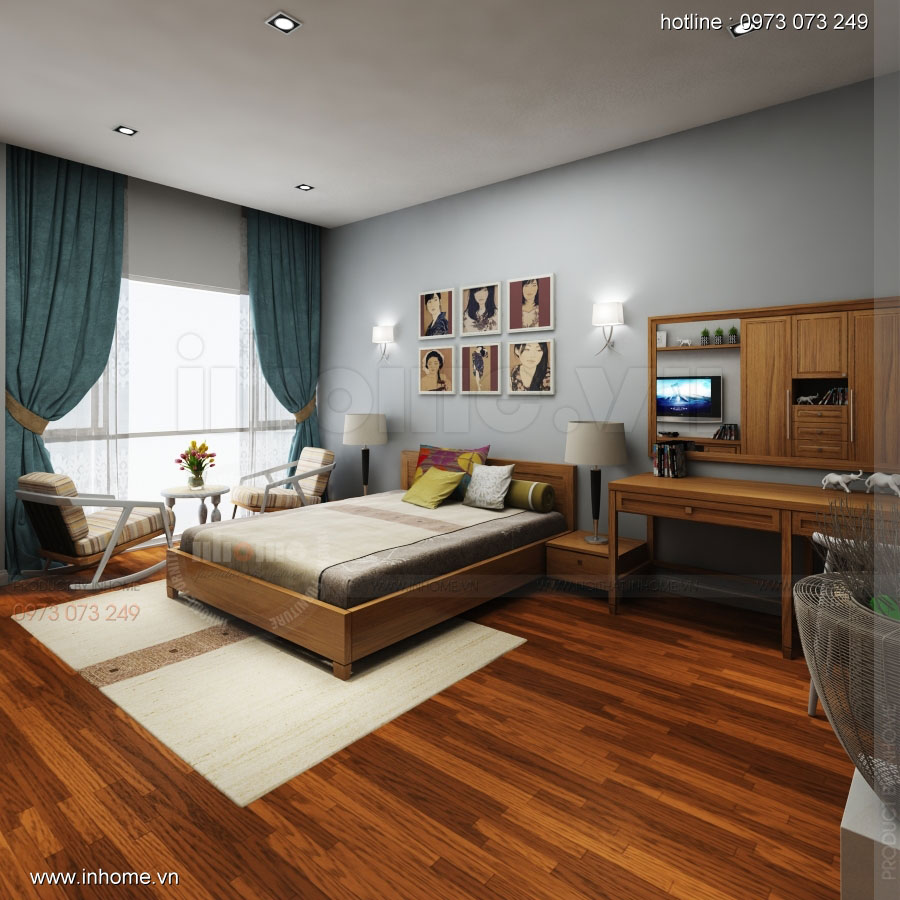 Thiết kế nội thất khách sạn Bắc Ninh