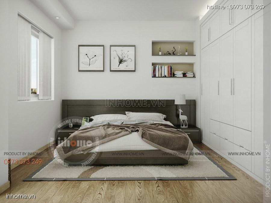 Thiết kế nội thất chung cư CT3 Mỹ Đình 14