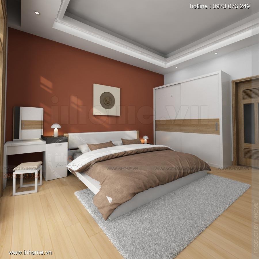 Thiết kế nội thất phòng ngủ nhà lô phố 11