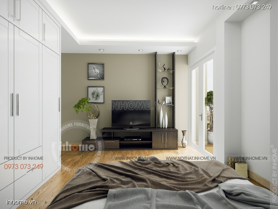 Thiết kế nội thất chung cư CT3 Mỹ Đình 16