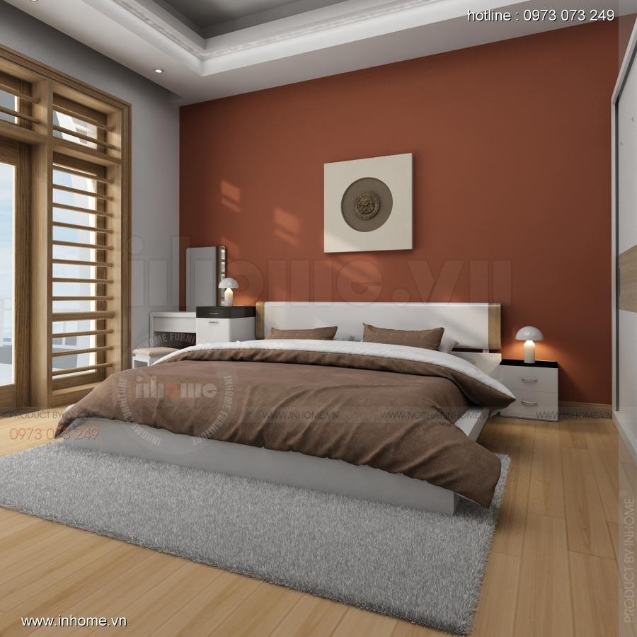 Thiết kế nội thất phòng ngủ nhà lô phố 09
