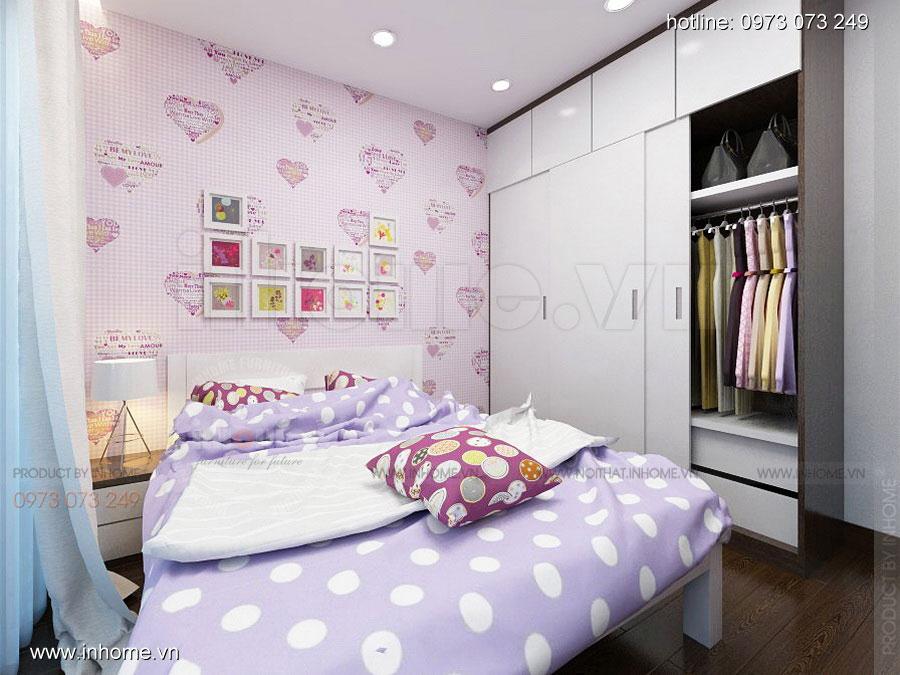 Thiết kế nội thất chung cư Định Công 08