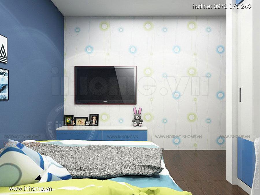 Thiết kế nội thất chung cư Định Công 09