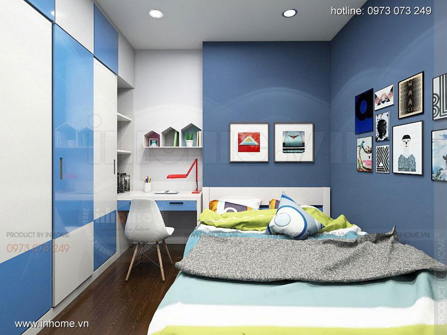 Thiết kế nội thất chung cư Định Công 10
