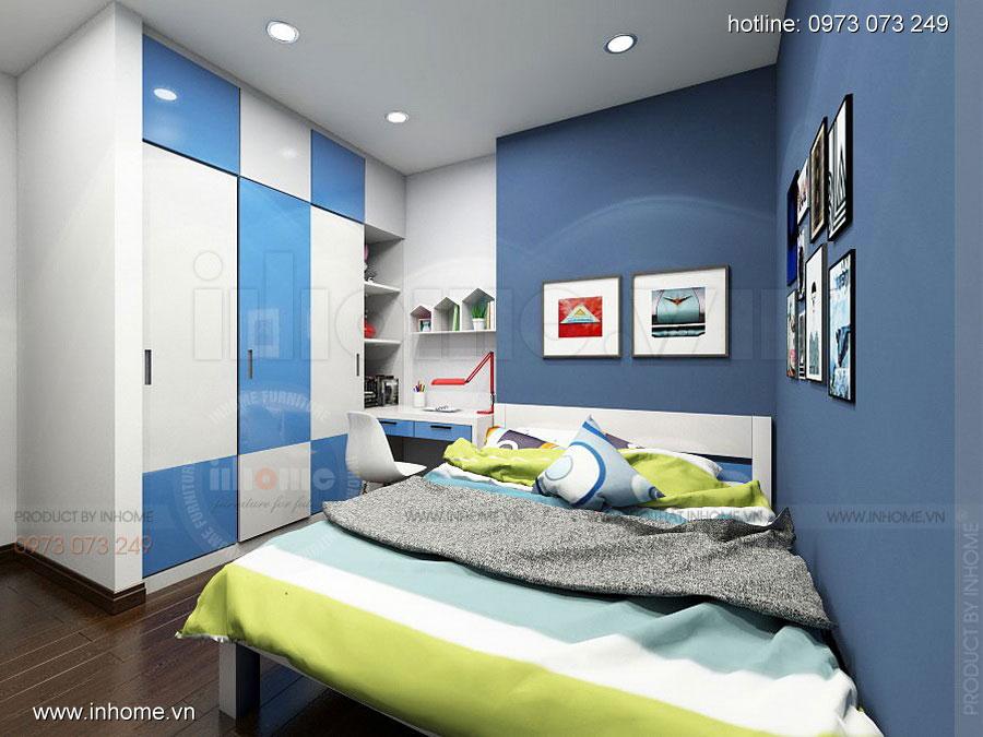 Thiết kế nội thất chung cư Định Công 11