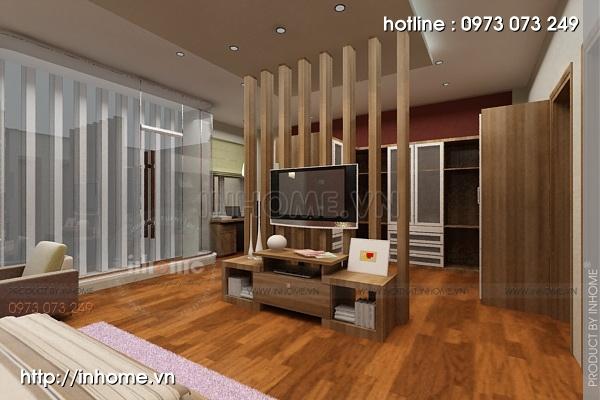 Thiết kế nội thất biệt thự Hoàng Quốc Việt