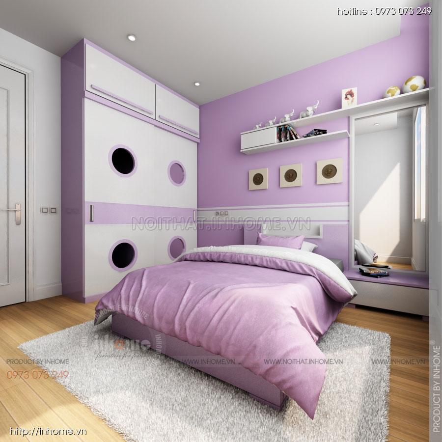 Thiết kế nội thất căn hộ Huyndai Hillstate 06