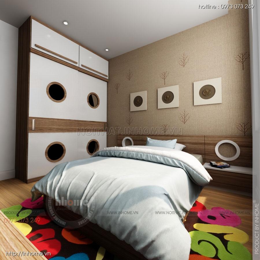 Thiết kế nội thất căn hộ Huyndai Hillstate 08
