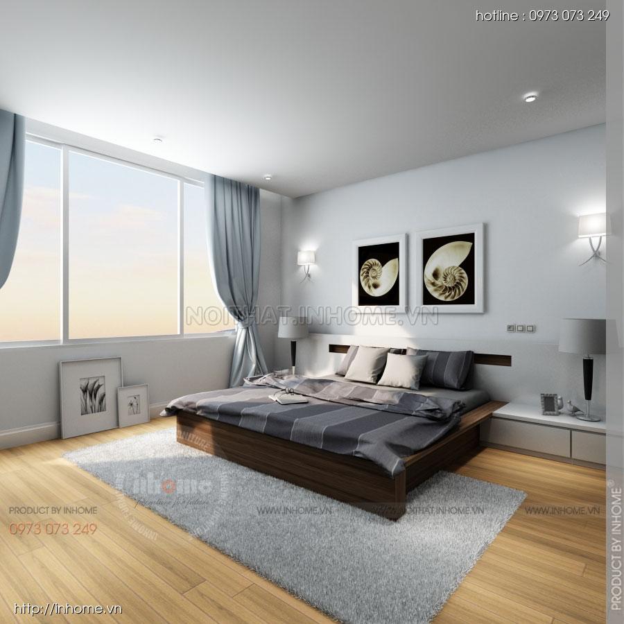 Thiết kế nội thất căn hộ Huyndai Hillstate 09