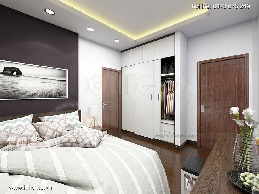 Thiết kế nội thất chung cư Định Công 12