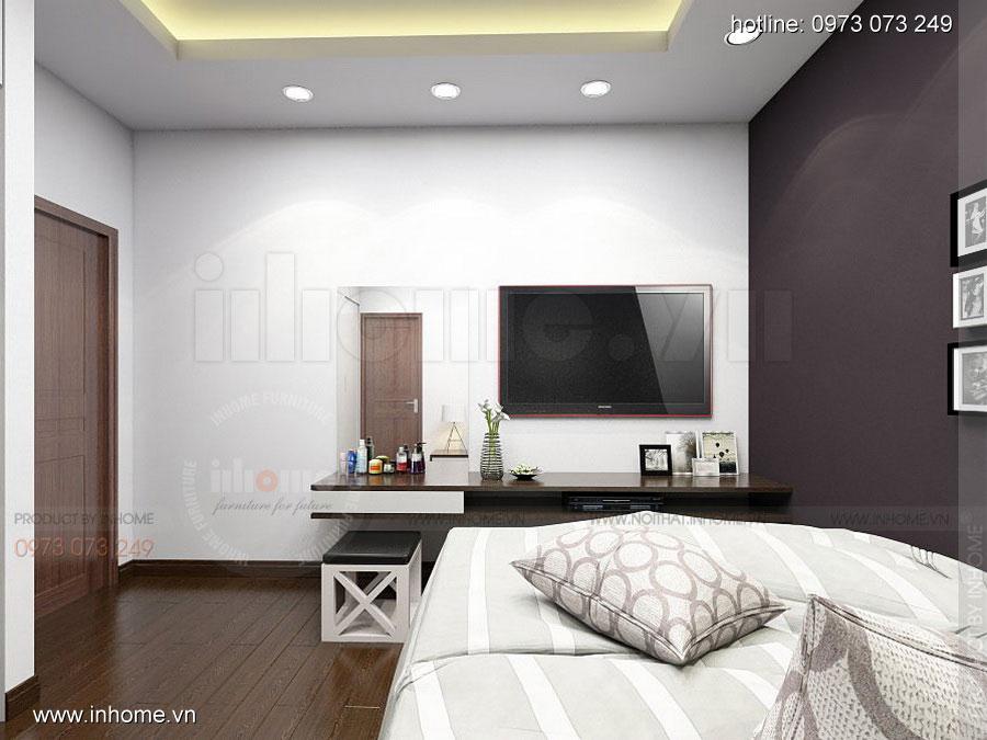 Thiết kế nội thất chung cư Định Công 13
