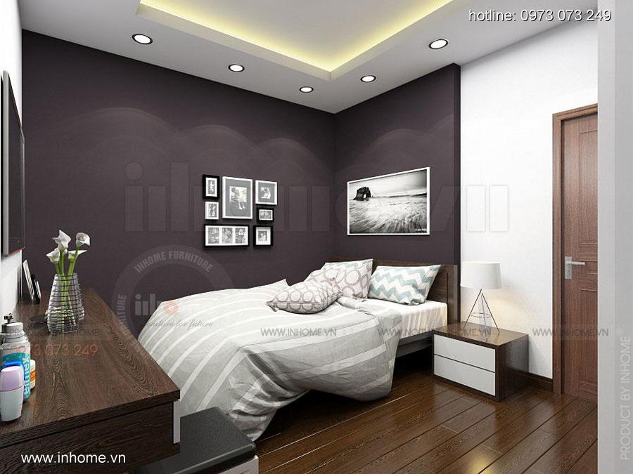 Thiết kế nội thất chung cư Định Công 14