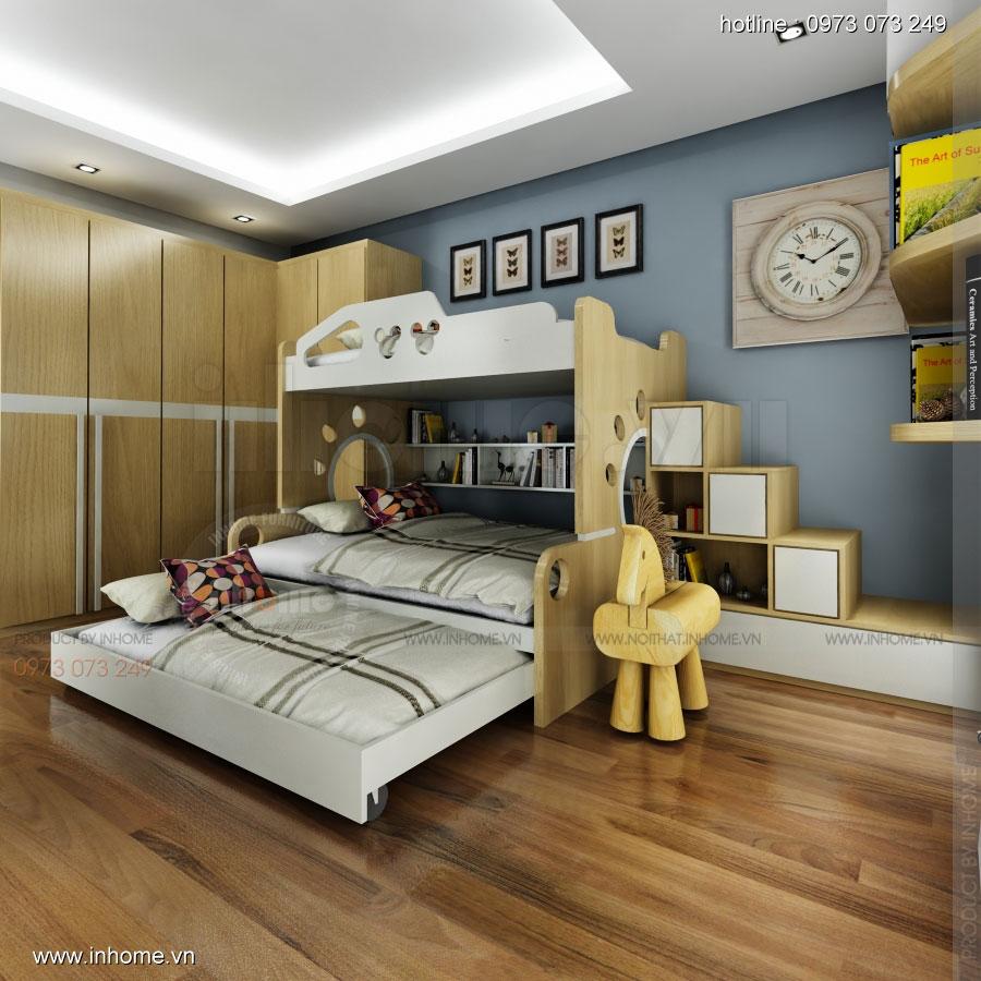 Nội thất phòng ngủ trẻ em đẹp