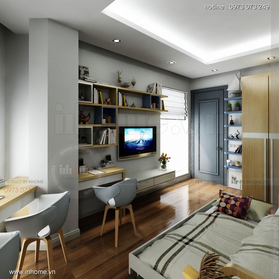 Thiết kế nội thất phòng ngủ trẻ em đẹp 08