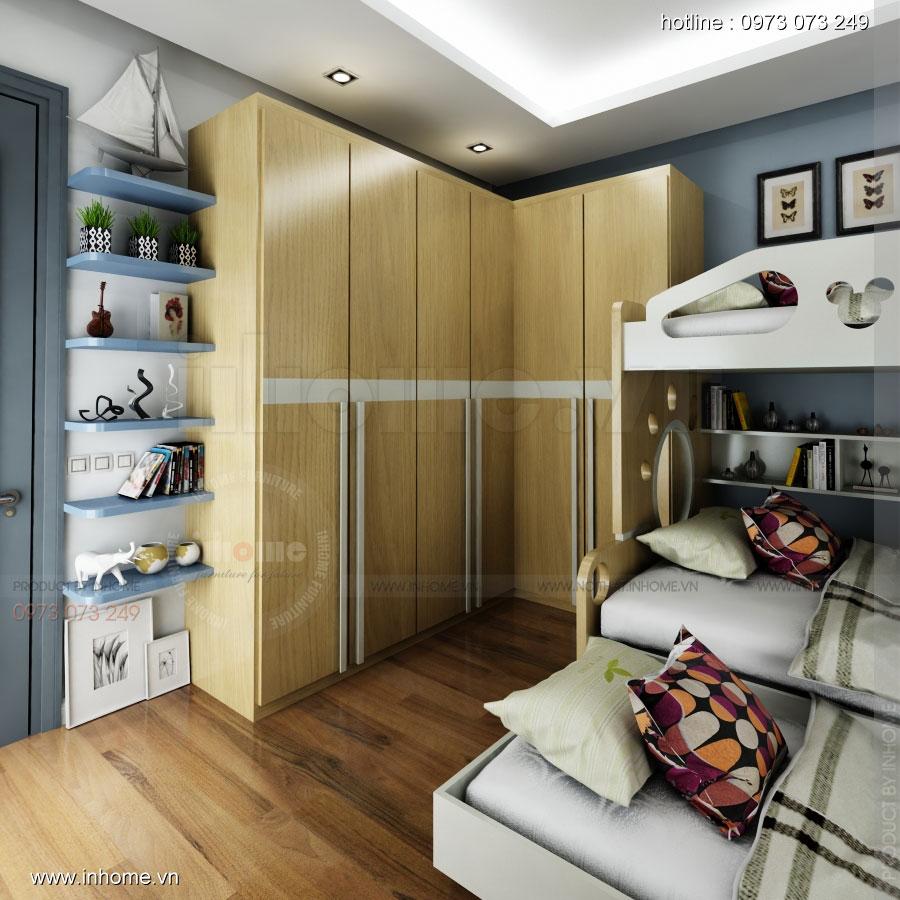 Thiết kế nội thất phòng ngủ trẻ em đẹp 09