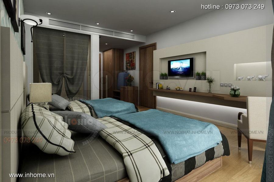 Thiết kế nội thất khách sạn LIBERTY 05