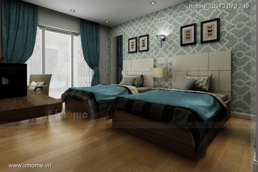 Thiết kế nội thất khách sạn LIBERTY 06
