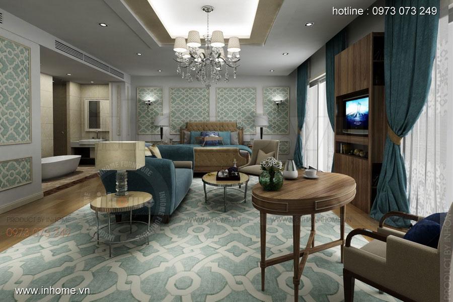 Thiết kế nội thất khách sạn LIBERTY 01