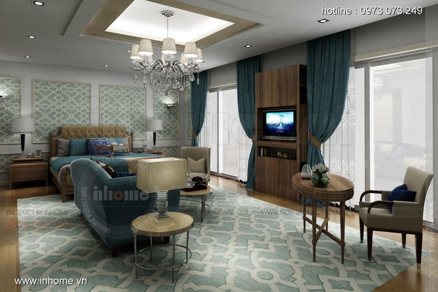Thiết kế nội thất khách sạn LIBERTY Quảng Bình Hotel - Phòng Suite 3 bays