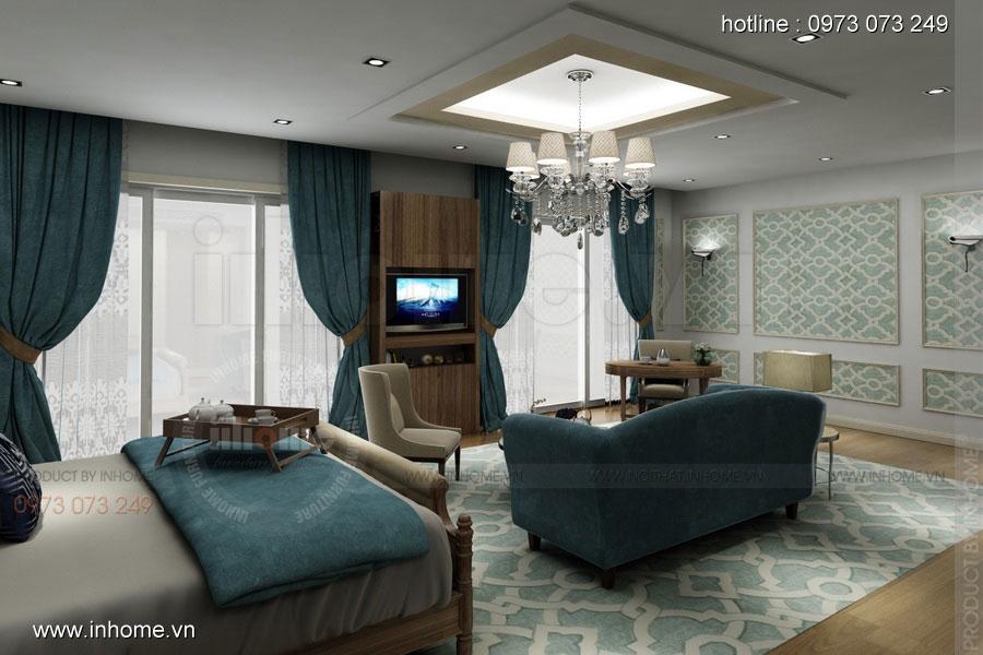 Thiết kế nội thất khách sạn LIBERTY 02
