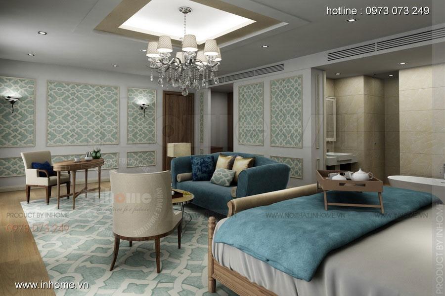 Thiết kế nội thất khách sạn LIBERTY 03