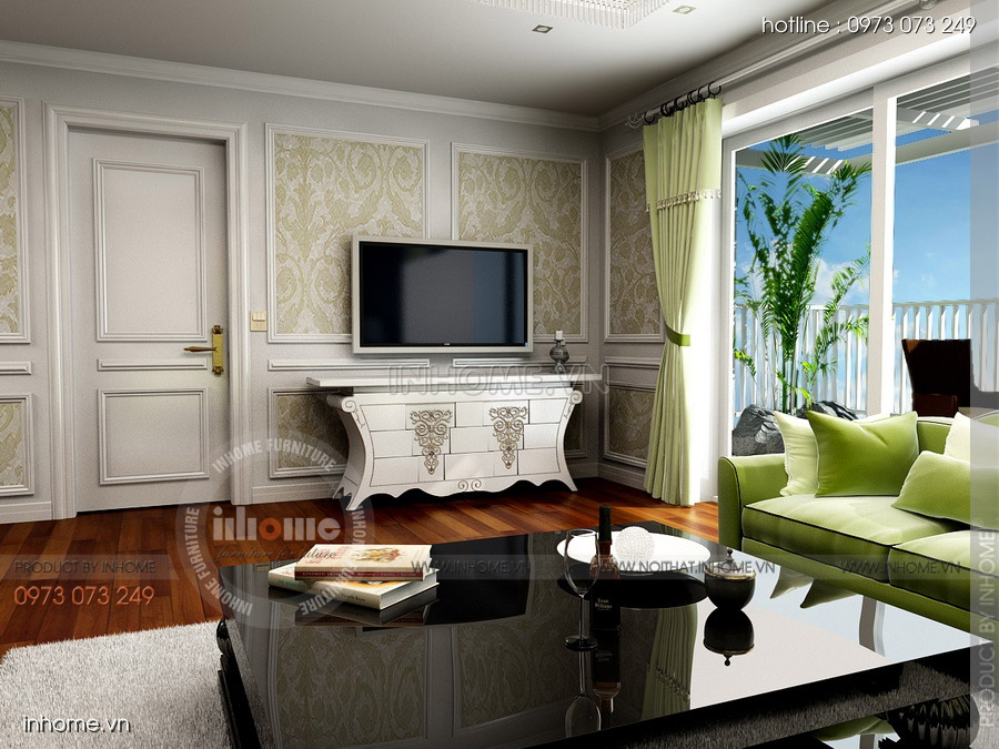 Thiết kế nội thất đẹp, Chị Hà, Láng Hạ 06