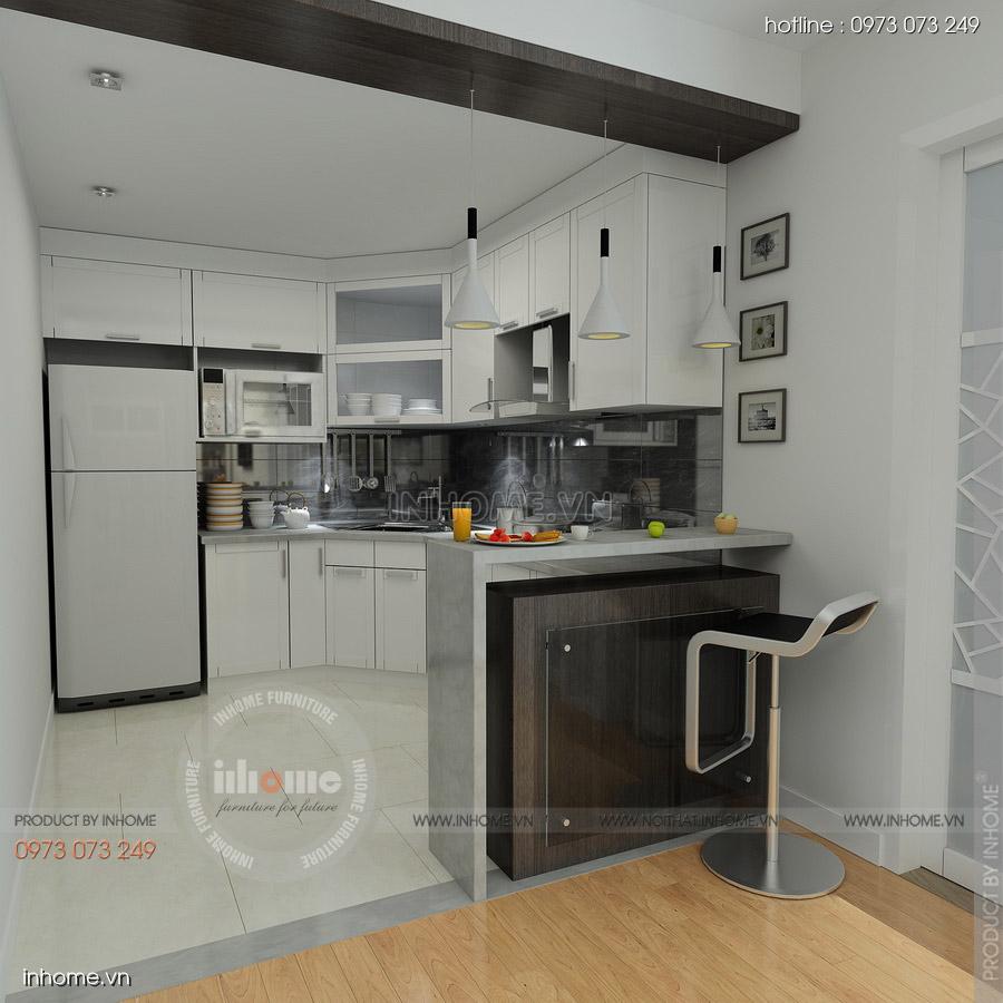 Thiết kế nội thất chung cư CT3 Mỹ Đình 03