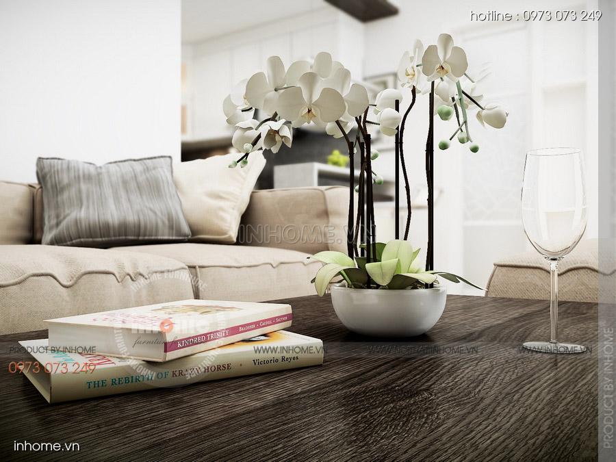 Thiết kế nội thất chung cư CT3 Mỹ Đình 04