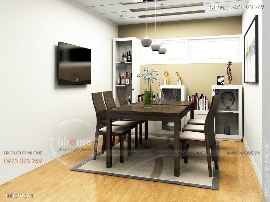 Thiết kế nội thất chung cư CT3 Mỹ Đình 06