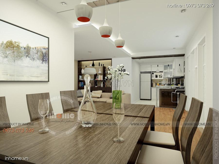 Thiết kế nội thất chung cư CT3 Mỹ Đình 07