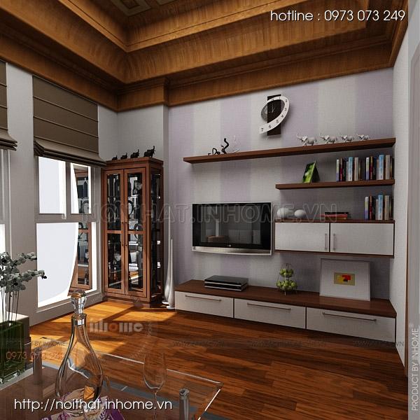 Thiết kế nội thất nhà lô phố Tôn Đức Thắng