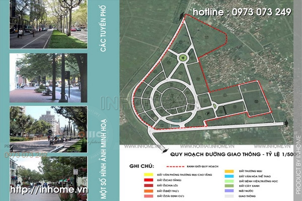 Quy hoạch cảnh quan tây Nam An Khánh 06