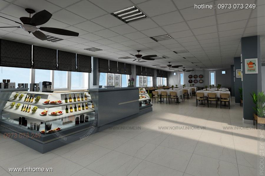 Thiết kế nội thất CANTEEN Đại học Bách Khoa 09