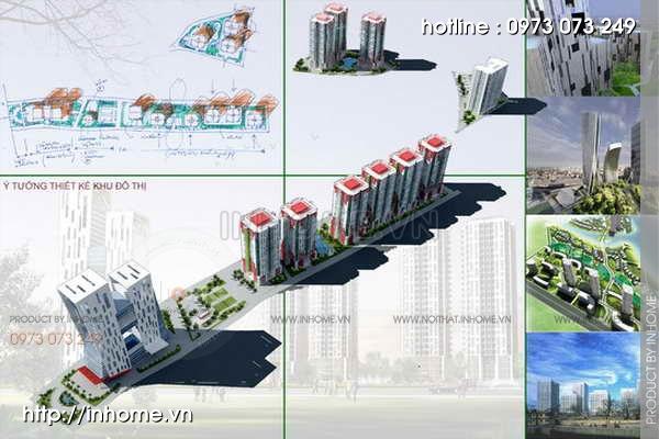 Thiết kế quy hoạch cảnh quan Cầu Diễn 02