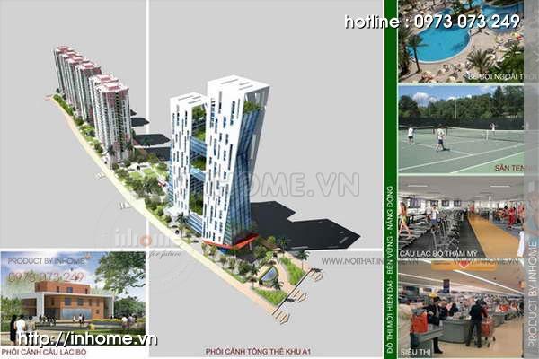 Thiết kế quy hoạch cảnh quan Cầu Diễn 12