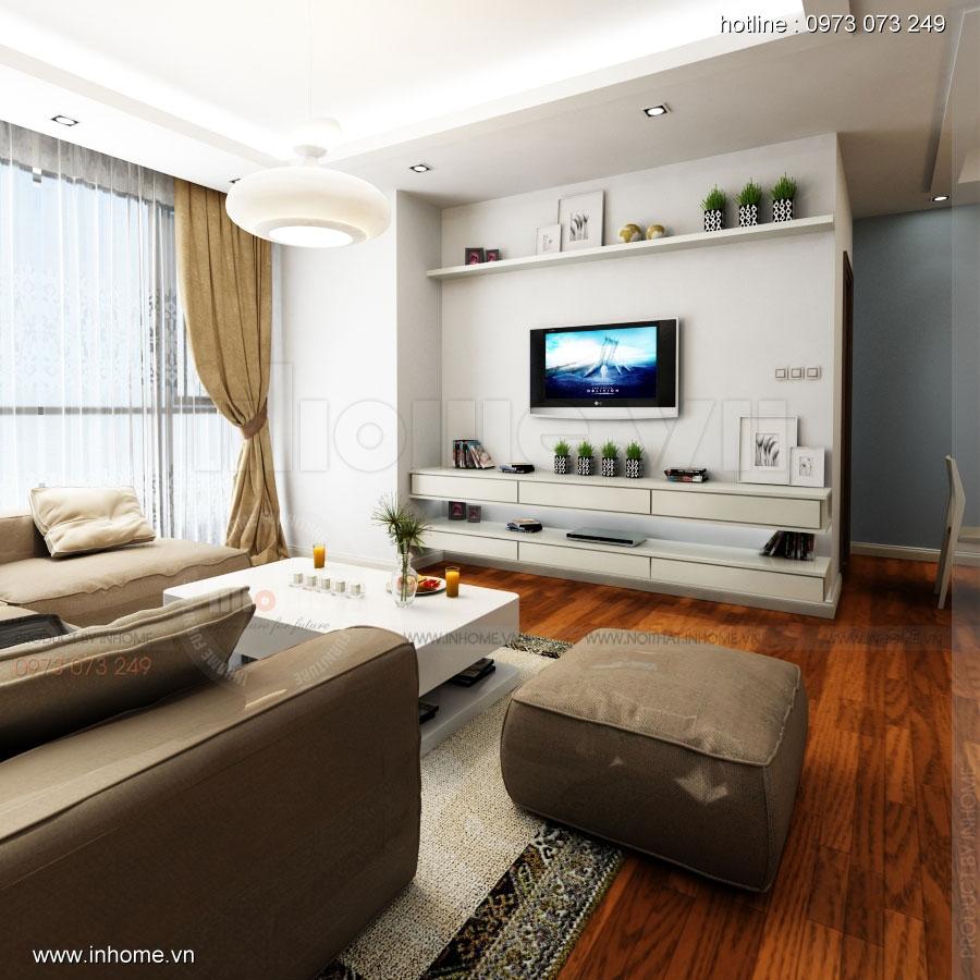 Thiết kế nội thất căn hộ cao cấp Royal City 01