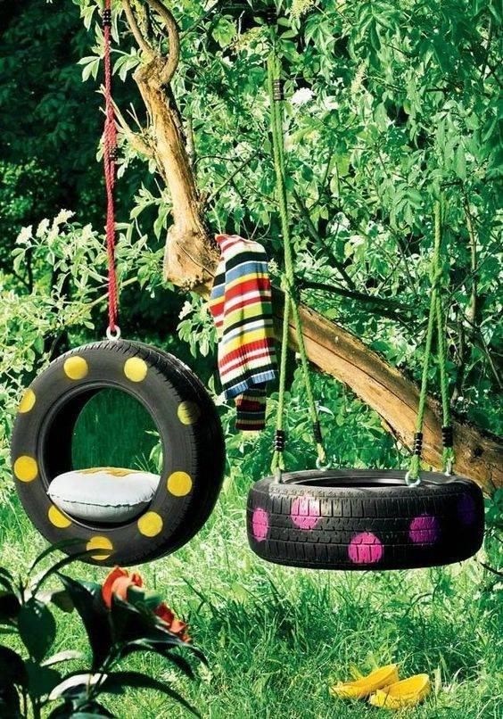 Sáng tạo tuyệt đối với ý tưởng hô biến lốp xe cũ 16