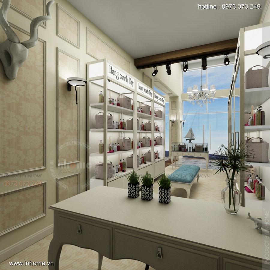 Thiết kế nội thất showroom hàng xách tay 02