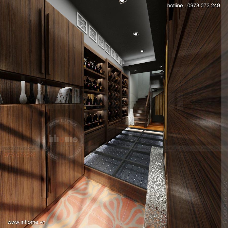 Thiết kế nội thất nhà hàng Nhật 10