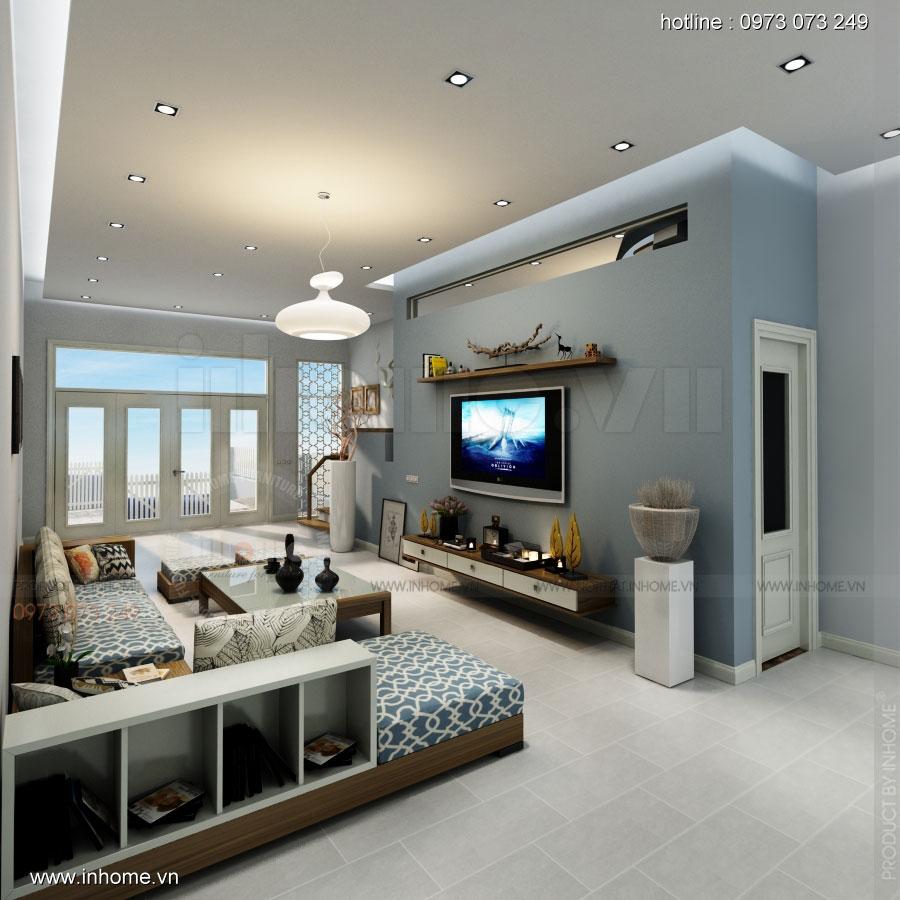 Thiết kế nội thất nhà phân lô, đô thị Xuân Phương Viglacera 03